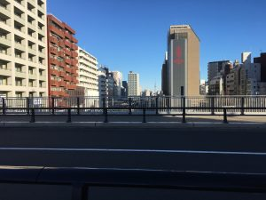 大塚駅の空蝉橋からの景色