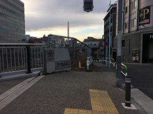 空蝉橋近くの出世稲荷神社への行き方