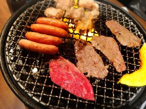 食べ放題は要注意「焼肉本舗 ぴゅあ 池袋店」のお肉