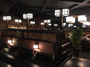 【新宿駅】はじめての「かに道楽」贅沢な蟹三昧大満足ううう!の店内1