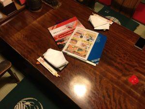 【新宿駅】はじめての「かに道楽」贅沢な蟹三昧大満足ううう!のテーブル