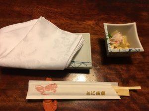 【新宿駅】はじめての「かに道楽」贅沢な蟹三昧大満足ううう!のお通し