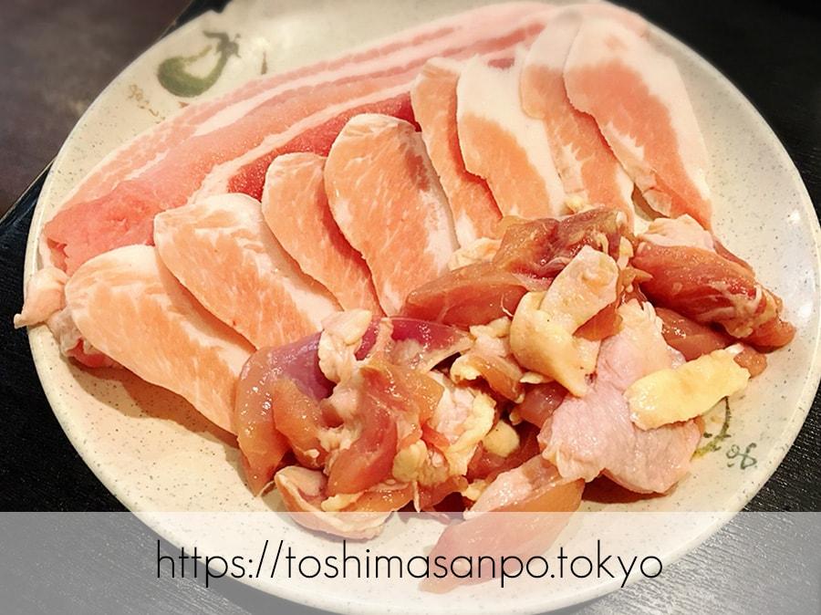 【池袋駅】うそでしょ?!1,000円で焼肉食べ放題できるなんて信じられない!「焼肉牛菜 池袋東口店」の食べ放題のお肉2
