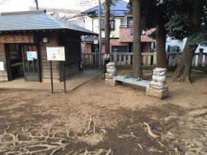 猫地帯の法明寺(ほうみょうじ)の鬼子母神名物の大黒堂