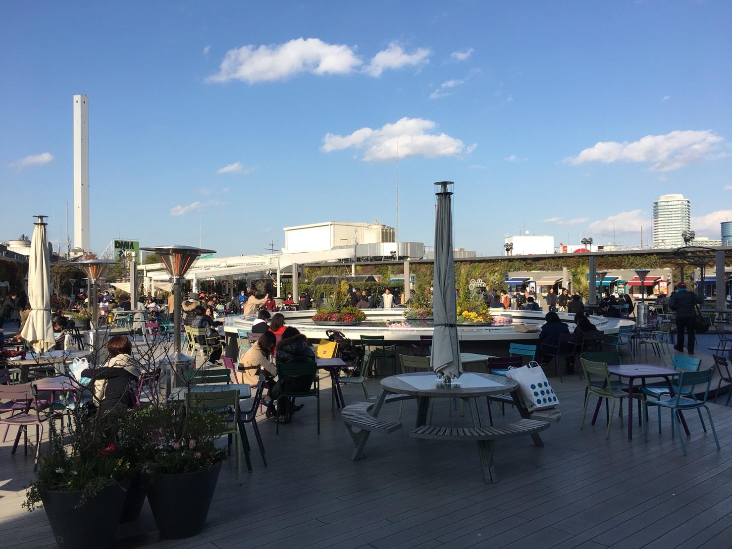 【池袋駅】「西武池袋本店の空中庭園」で青空の下ポカポカ休憩。知らなきゃ損の秘密の場所。