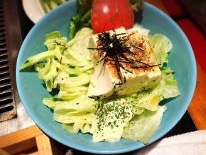 【池袋駅】お好み焼きをNa味(なみ)に食べに行こう!の豆腐サラダ