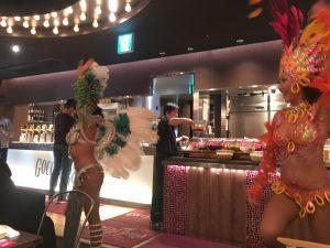 【池袋駅】月木サンバショー「GOCCHI BATTA」シュラスコのサンバショー2