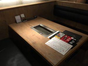 【池袋駅】激おすすめ「焼肉叙庵 サンシャインイン60通り店」のテーブル1
