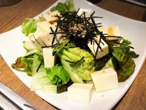 【池袋駅】激おすすめ「焼肉叙庵 サンシャインイン60通り店」の豆腐サラダ