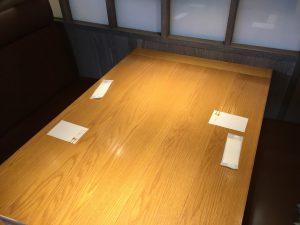 【池袋駅】東武百貨店の人気食べ放題「シュプリーム」モリモリ!のテーブル
