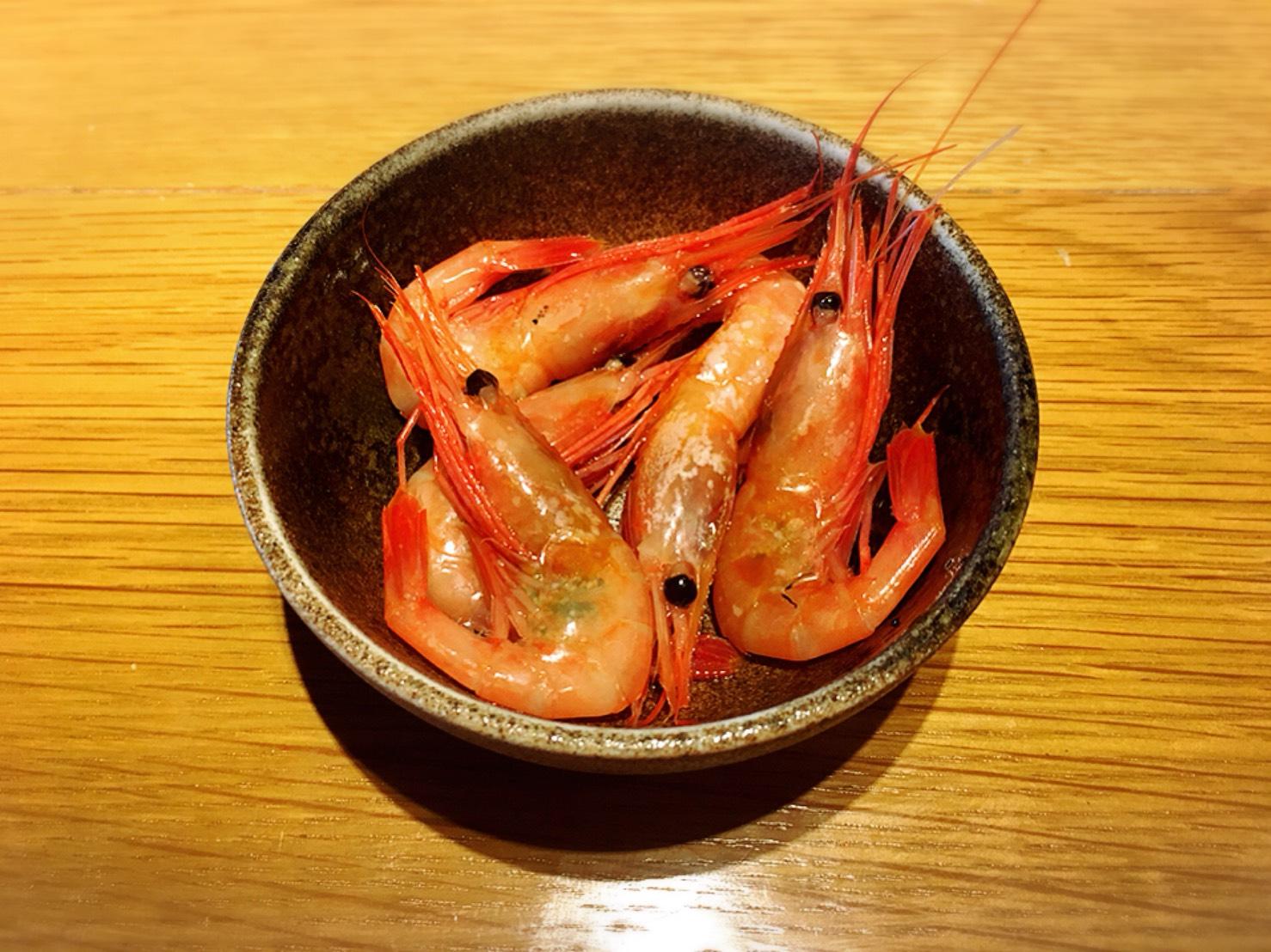 【池袋駅】東武百貨店の人気食べ放題「シュプリーム」モリモリ!の甘エビ