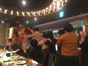 【池袋駅】月木サンバショー「GOCCHI BATTA」シュラスコのサンバショー3