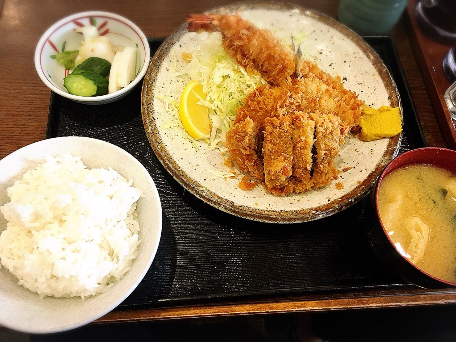 【巣鴨駅】大人気「ときわ食堂」が美味しくてハマった報告のミックスフライ定食