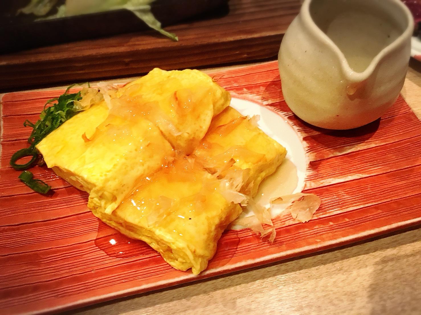 【池袋駅】落ち着いた少人数個室が使いやすい!九州料理もクオリティ高めの「TORI魚 池袋本店」のこだわり玉子の出汁巻き