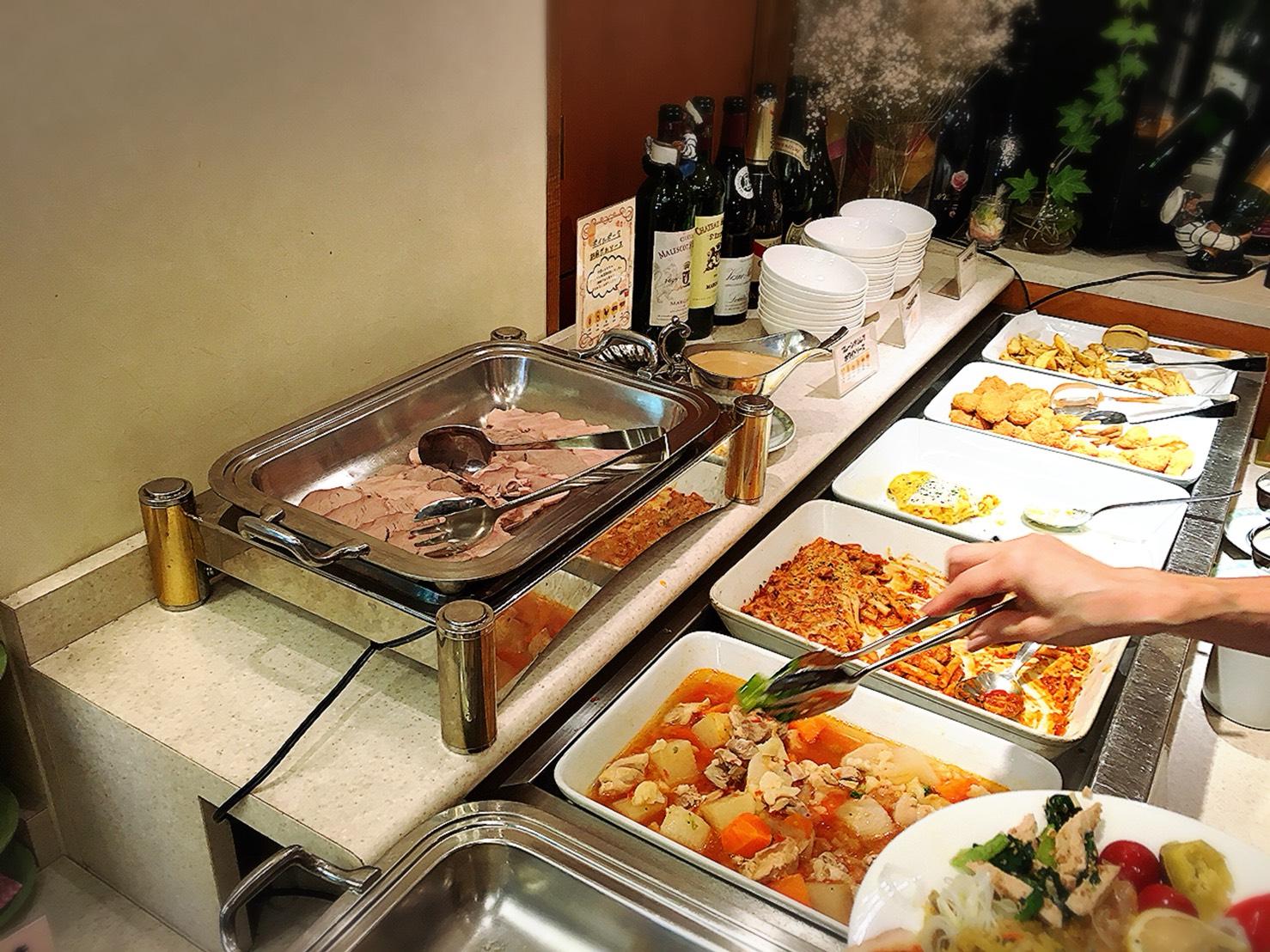 【池袋駅】安くて美味しい超人気ビュッフェ!池袋最強コスパ!?第一イン池袋レストラン「ピノ」のランチビュッフェ4