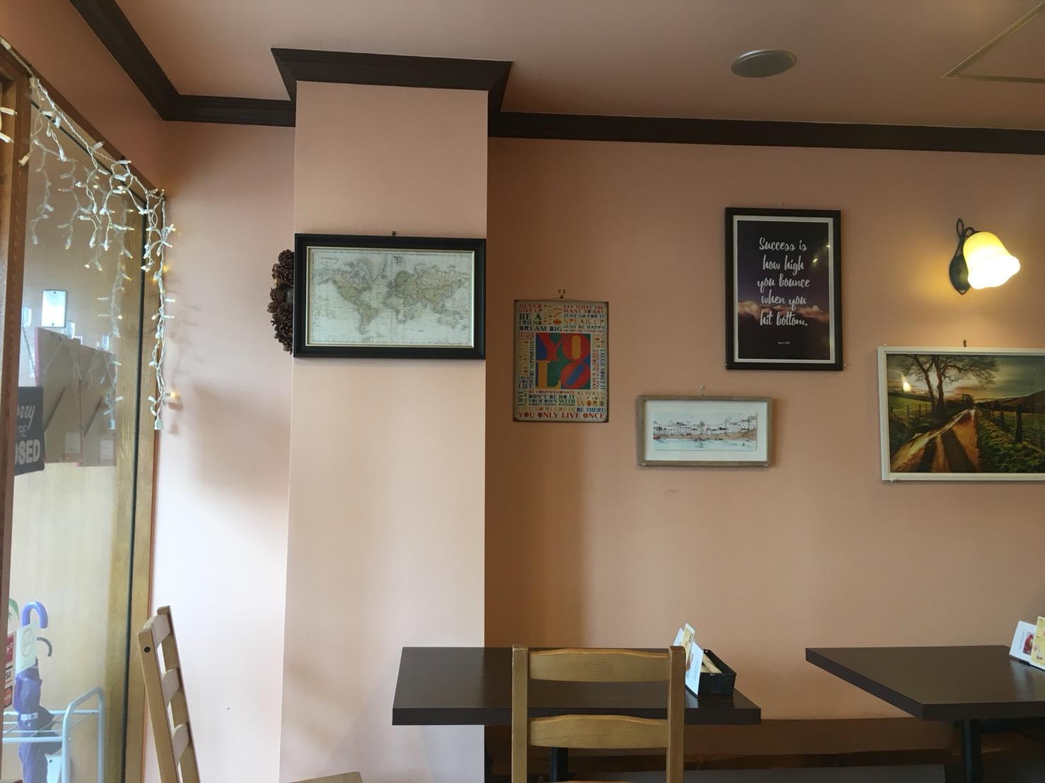 【駒込駅】外国人シェフのイタリアン「Chef Daniel's」超カワイイの店内2