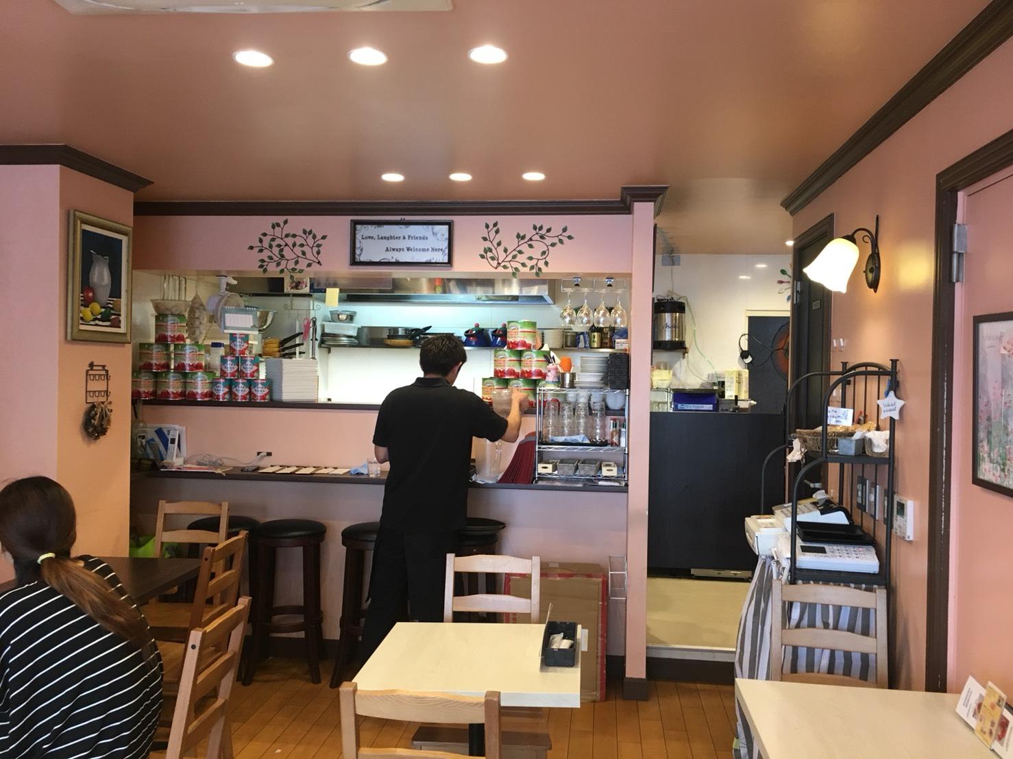 【駒込駅】外国人シェフのイタリアン「Chef Daniel's」超カワイイの店内1