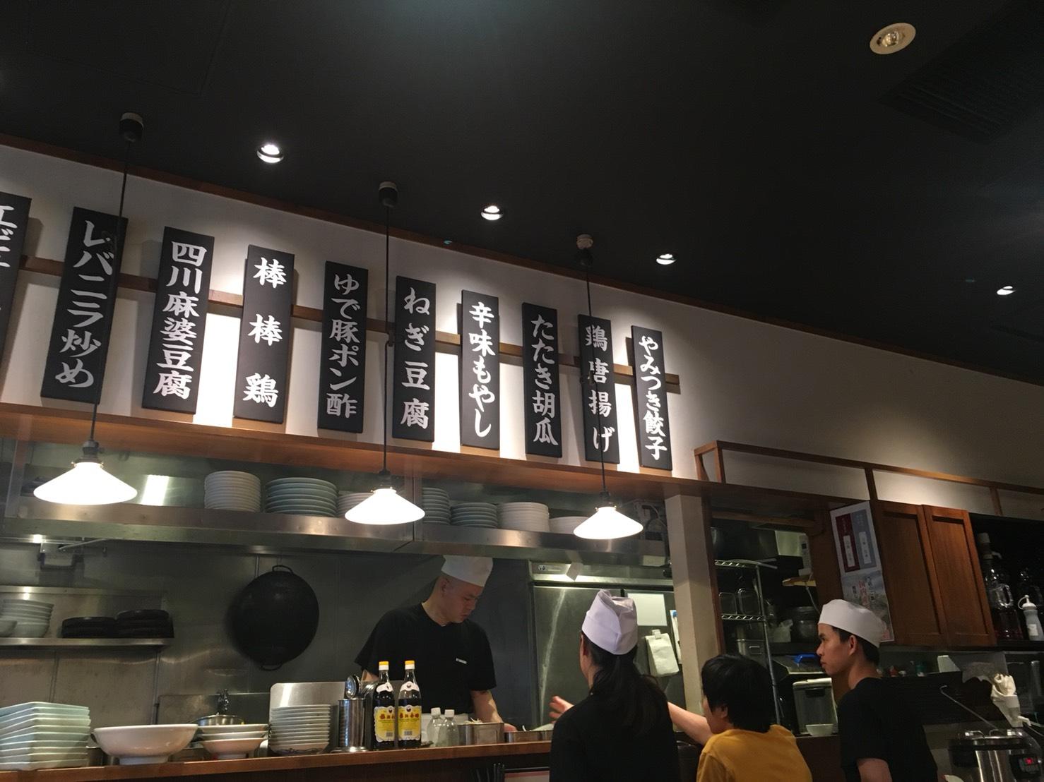 【大塚駅】迷走中?とても残念。旧富士ノ山食堂「万豚記」の店内1