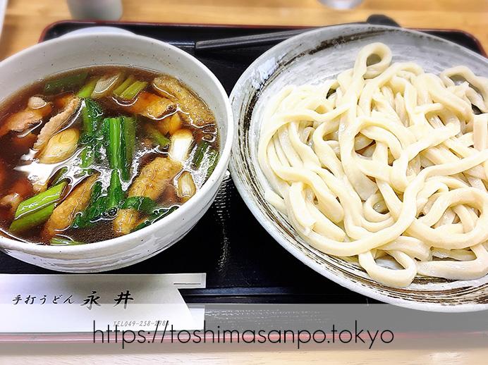【ふじみ野駅】惚れ込んじゃった武蔵野うどん!遠くても待っても食べたい「手打ちうどん永井」の肉汁うどん