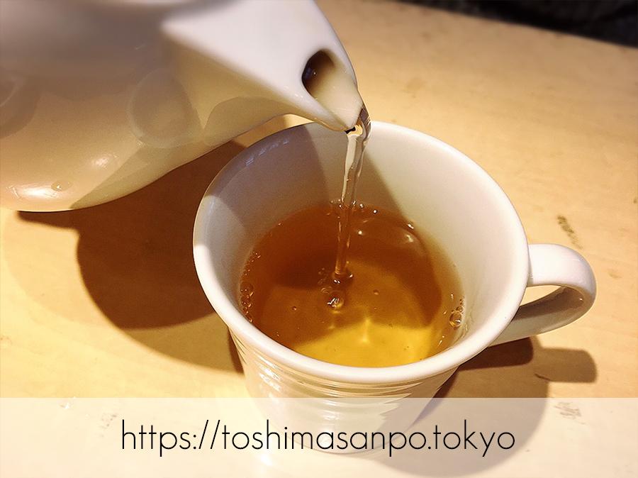 【池袋駅】ヘルシー料理食べ放題で安心!自然派「はーべすとルミネ池袋」のお茶