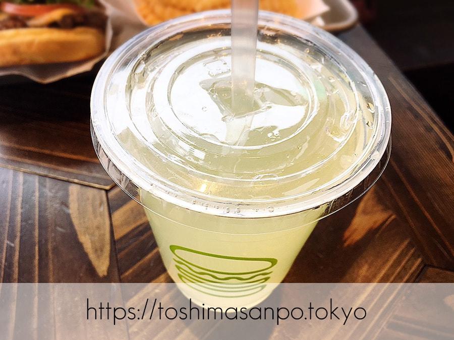 【新宿駅】豊島区へ出店熱望!NY発ハンバーガー「シェイクシャック」のレモネード