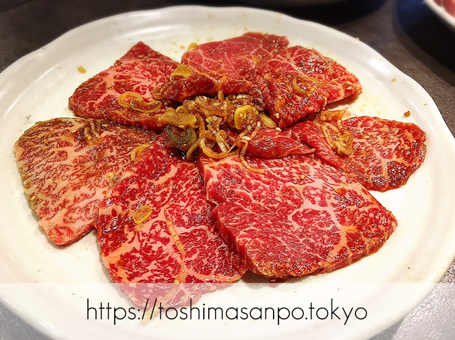 【大塚駅】昭和34年創業の老舗焼肉店「山水園」はやっぱりすごかった。の上ロース
