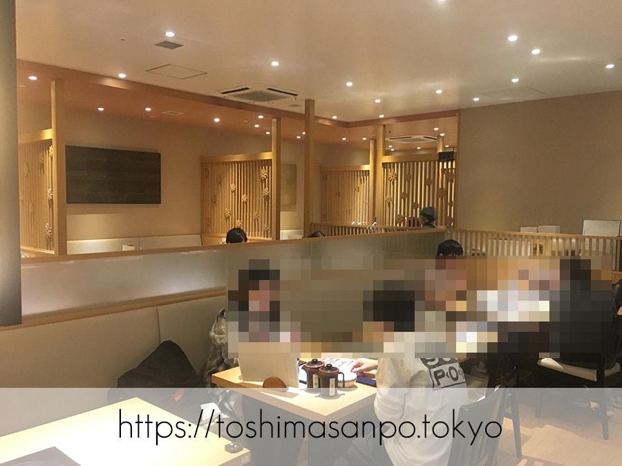 【池袋駅】これは事件だ!日本人は美味しいごはんを食べるべき。しゃぶしゃぶビュッフェ「 しゃぶ菜」の店内1