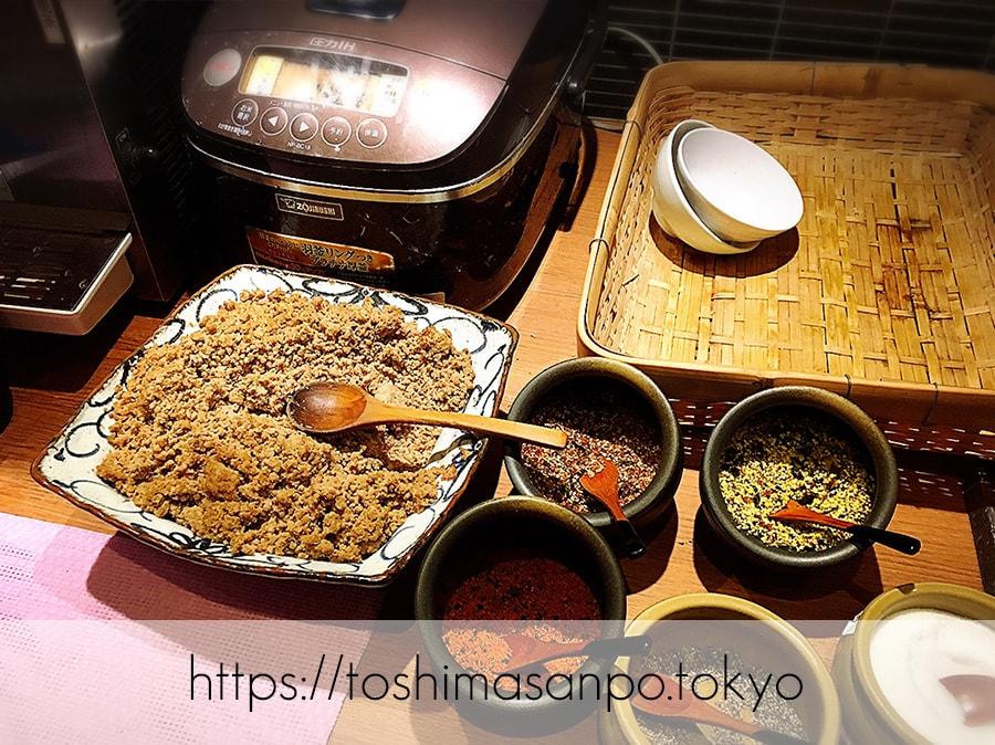 【池袋駅】これは事件だ!日本人は美味しいごはんを食べるべき。しゃぶしゃぶビュッフェ「 しゃぶ菜」のごはんビュッフェ