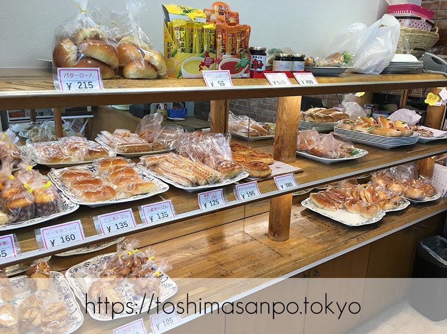 【向原駅】惣菜パン・菓子パン種類いっぱい!早朝開店アットホームな「大松ベーカリー」の店内5
