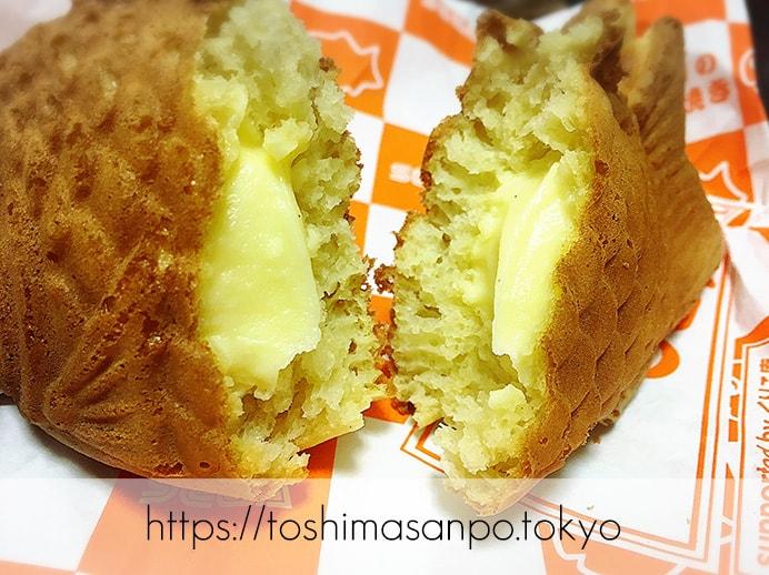 豊島区・池袋駅周辺:散策のお供にたい焼き食べよう〜!美味しいと有名な5店舗をご紹介。のセガのプレミアムクリーム