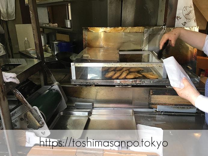 豊島区・池袋駅周辺:散策のお供にたい焼き食べよう〜!美味しいと有名な5店舗をご紹介。の福義(福よし)の店内