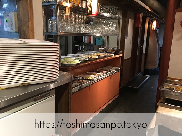【池袋駅】池袋駅周辺の最安ビュッフェ!台湾料理・中華料理を大量摂取するには「台北夜市 池袋本店」のビュッフェ1