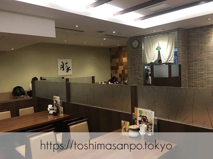 【池袋駅】あの和幸と少し違う!バッチリ美味しい&おかわり自由「とんかつ 和幸 東武池袋店」の店内