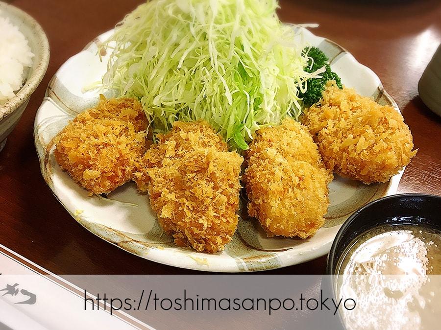 【池袋駅】ガッツリの食べ応え!ランチに食べたいボリューム満点・胃袋大満足のとんかつは「清水屋」