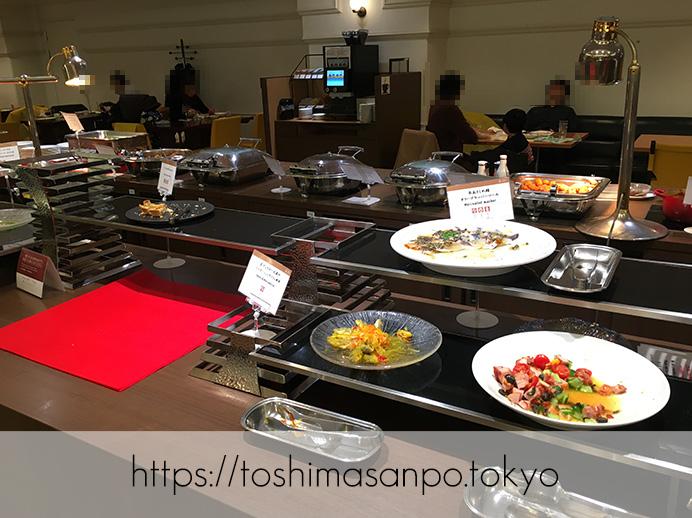【池袋駅】サンシャインシティプリンスホテルのビュッフェ知ってる?気兼ねなく入れる「レストラン バイエルン」のビュッフェ1